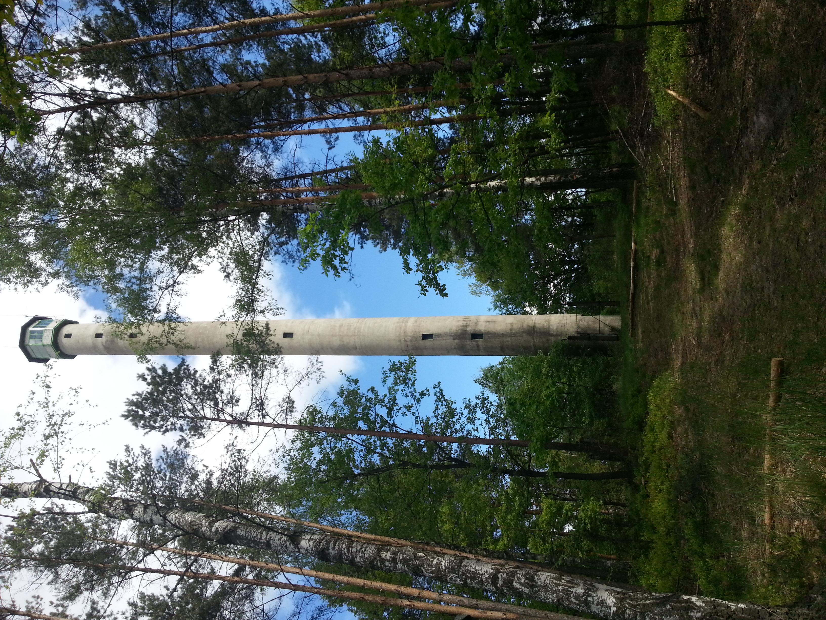 leśna wieża obserwacyjna w Truszczycy (Kalety)