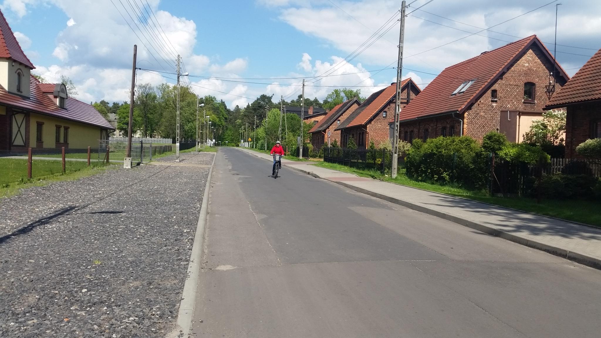 Osiedle fabryczne w Boruszowicach.