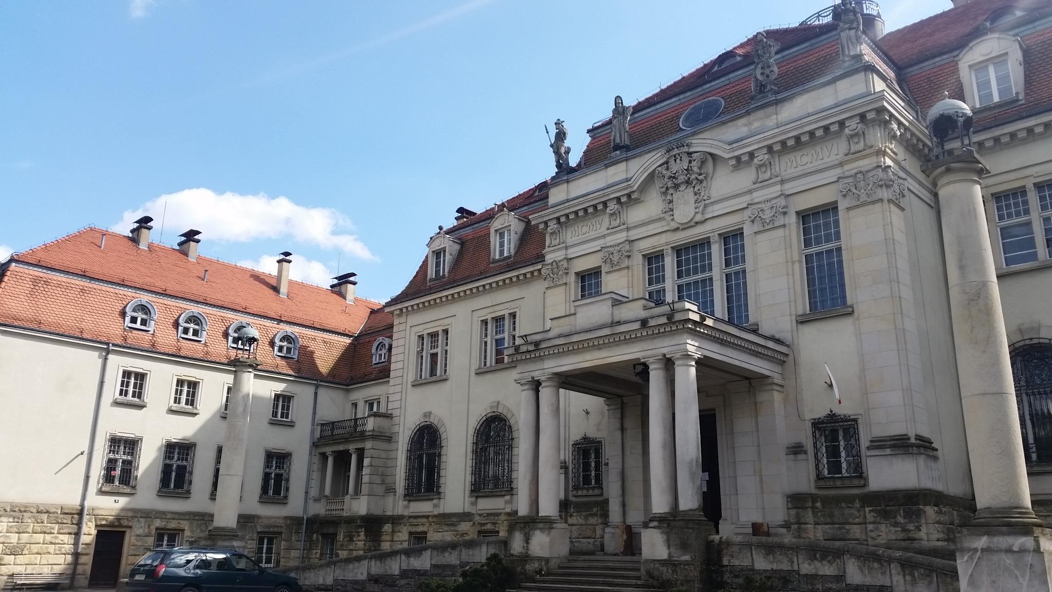 Pałac w Brynku (koło Tworoga)