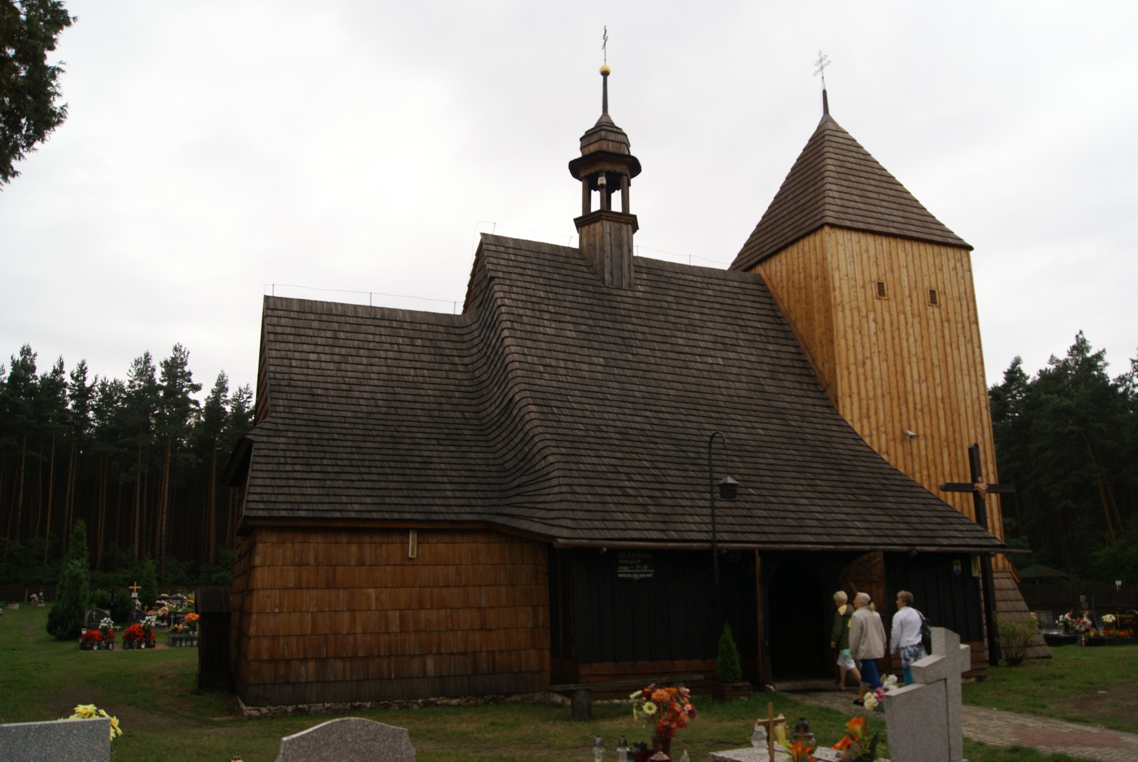 Kościół w Bruśku (gmina Koszęcin)